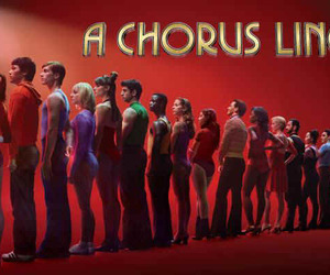 broadway, musical, and a chorus line image