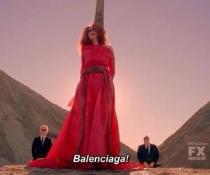 american horror story, myrtle snow, and Balenciaga image