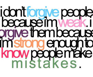 forgive, quote, and mistakes image