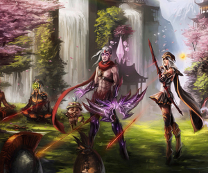 ashe, league of legends, and teemo image