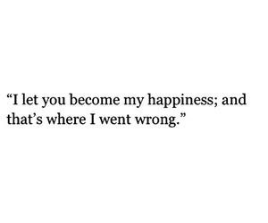 quote, happiness, and love image