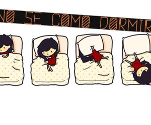 cute, sleep, and love image