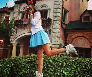 fashion, minnie mouse, and style image