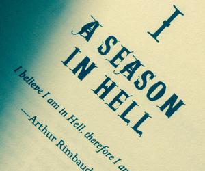 angels, Arthur Rimbaud, and dark side image