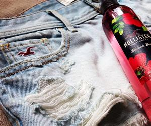 hollister, shorts, and love image