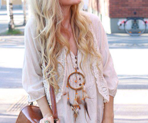 chic, dreamcatcher, and fashion image