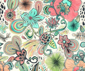 background, beauty, and floral wallpaper image