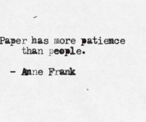 quote, anne frank, and people image