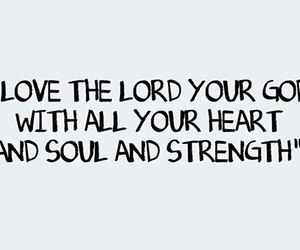 Christ, soul, and strength image