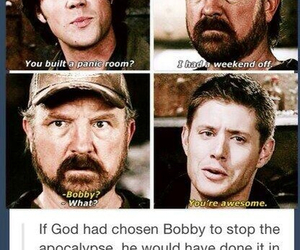 bobby, dean, and funny image