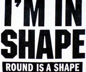 round, shape, and funny image