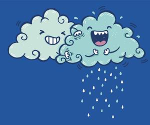 rain and funny image
