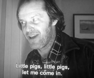 The Shining, jack nicholson, and movie image
