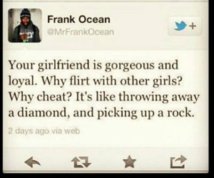 twitter, frank ocean, and quotes image