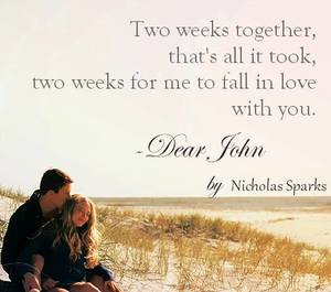 quote, dear john, and movies image