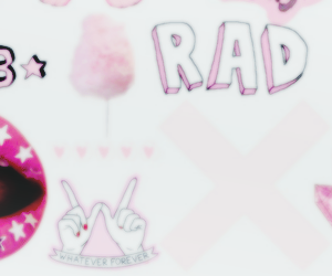 header, pink, and overlays image