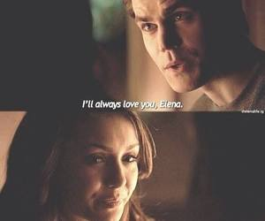 love, stelena, and tvd image