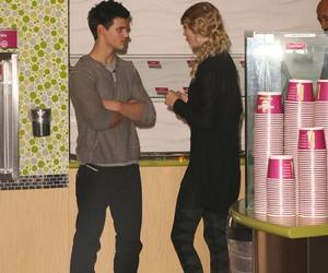 lautner, Swift, and taylor image