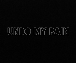 lonely, my, and pain image