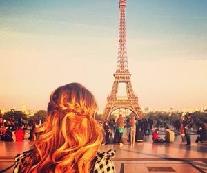 paris, hair, and blonde image