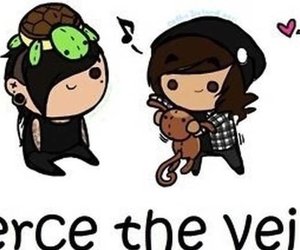 pierce the veil, mike fuentes, and vic fuentes image