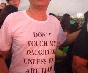 liam payne, one direction, and dad image