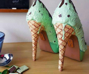 ice cream and shoes image