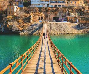 bridge, travel, and turkey image