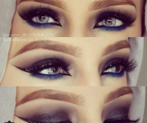 cat eye, lashes, and wow image