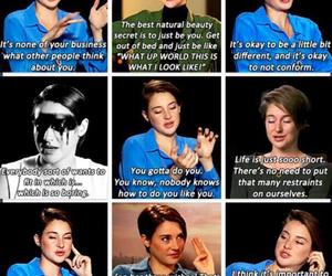 Shailene Woodley and inspiration image