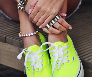 fashion, fluo, and indie image