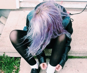 girl, grunge, and cute image