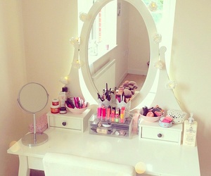 makeup, mirror, and white image