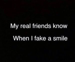 friends, smile, and fake image