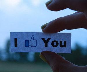 like, facebook, and i like you image