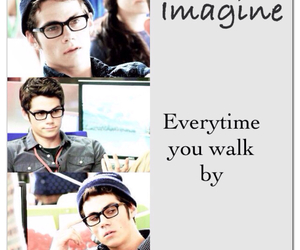 dylan, imagine, and o'brien image
