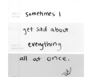 sad, quotes, and tumblr image