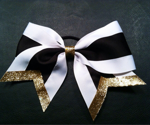 black, gold, and sparkle image