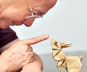 art, origami, and Paper image