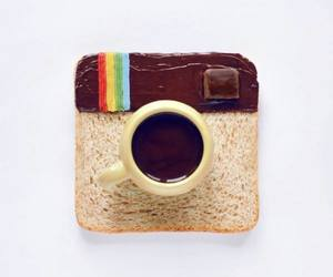 chocolate, instagram, and coffe image