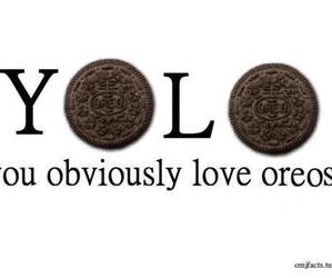 oreo, yolo, and food image