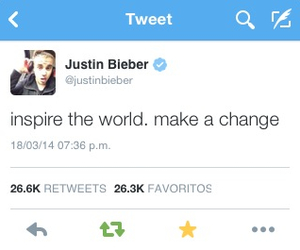 twitter, justin bieber, and beliebers image