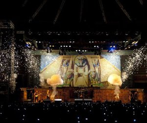 iron maiden and powerslave image