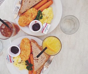 american, breakfast, and food image