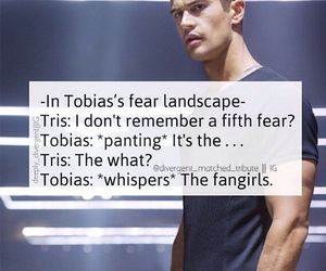 divergent, four, and fangirls image