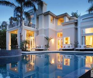 beautiful homes and white house rich image