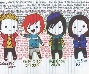 chibis, killjoys, and kobra kid image
