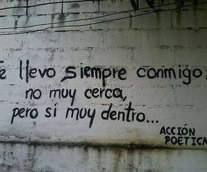 accion poetica, forever, and frases image
