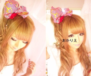 gyaru, popteen, and okarie image