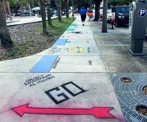 monopoly, street, and art image